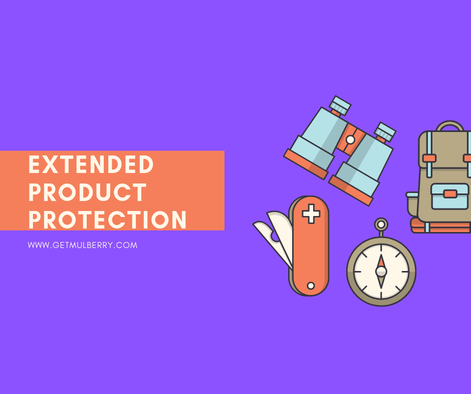 Extended protection plans to protect you from everyday mishaps